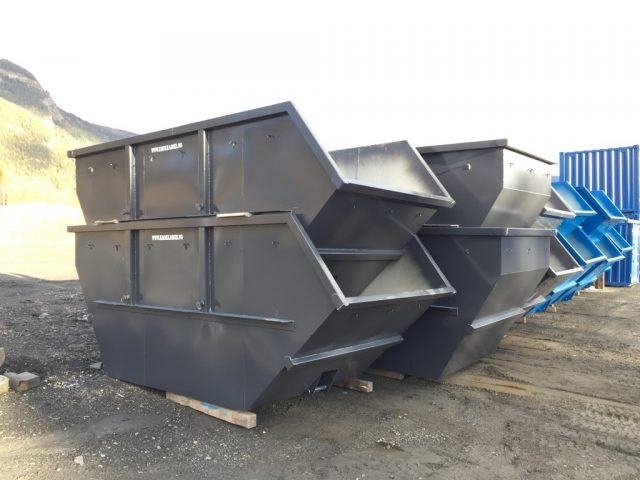Åpen liftcontainer