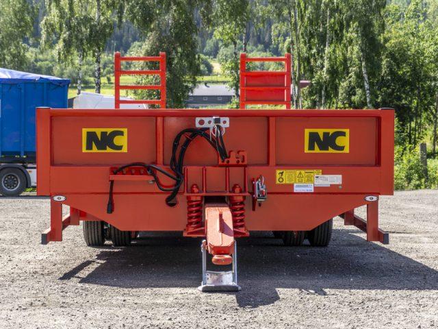 2 aksla NC traktorkjerre framme