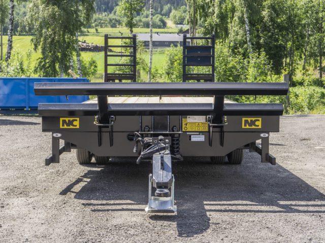 3 aksla NC traktorkjerre fram