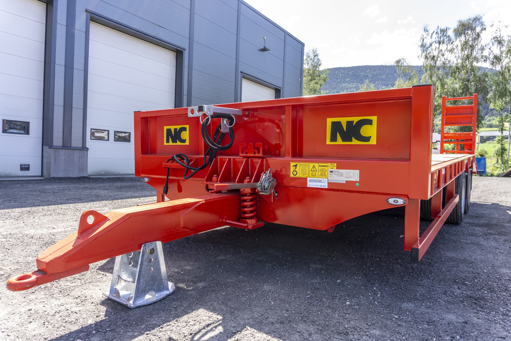 2 aksla NC traktorkjerre drag