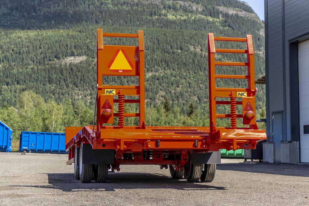 2 aksla NC traktorkjerre