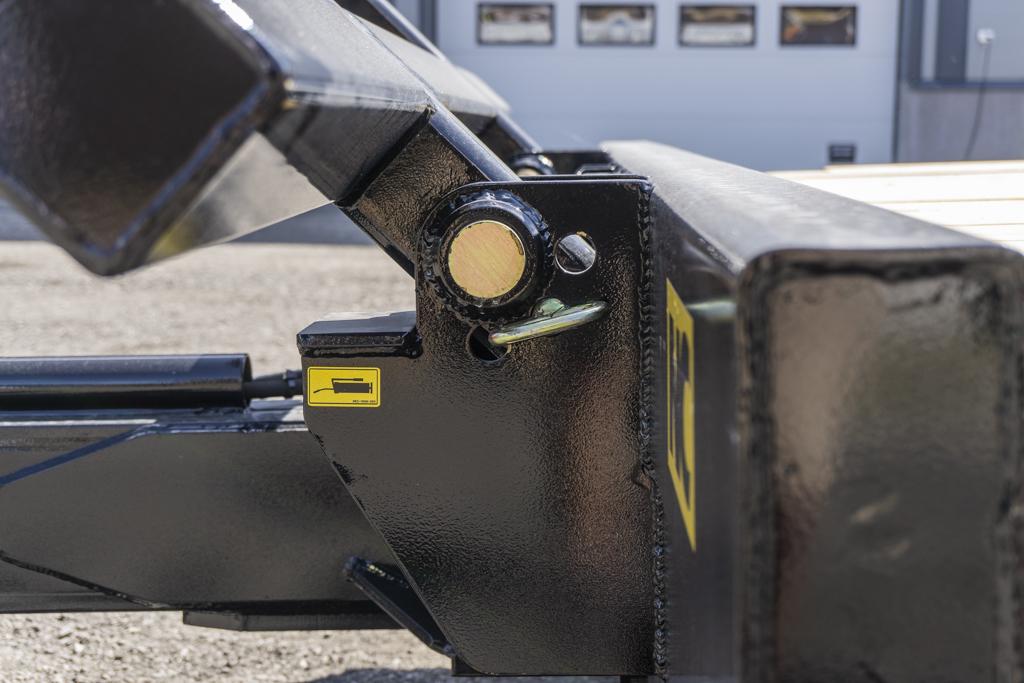 3 aksla NC traktorkjerre gavl detalj