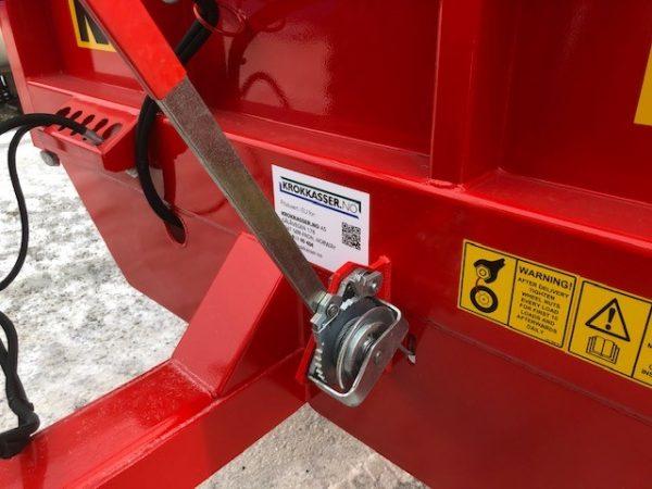 6 tonn traktor maskinhenger parkeringsbrems