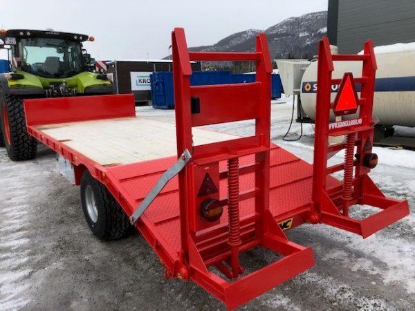 6 tonn traktor maskinhenger sett bakfra